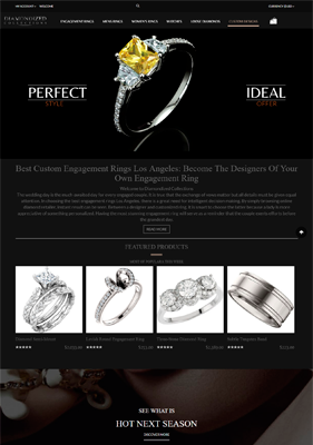 Engagement Rings Los Angeles, Wholesale Engagement Rings - Jewelry Online Shop